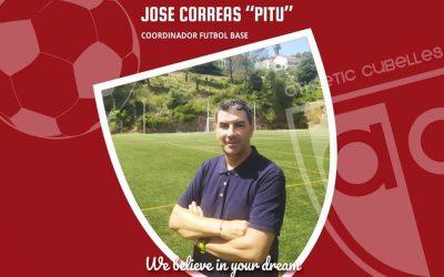 Us presentem al nostre Coordinador de Futbol Base.
