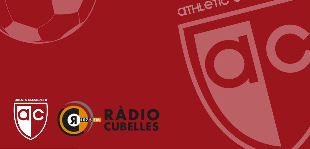 Entrevista a Sebastià Reguart, President de l'Athletic Cubelles FC a Ràdio Cubelles.